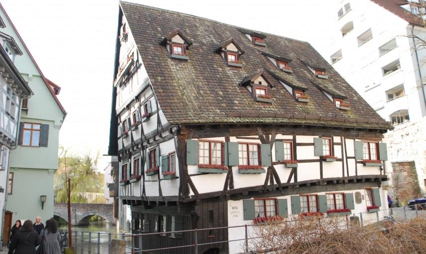Hotel Schiefes Haus Ulm Unterkunft Hotel