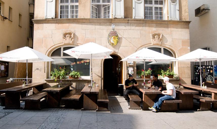 Cafe In Stuttgart