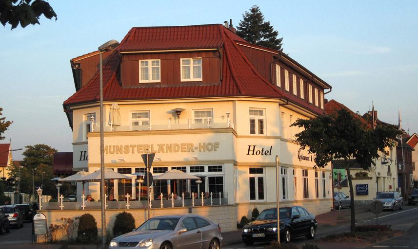 M nsterl nder hof cloppenburg unterkunft hotel for Design hotel niedersachsen