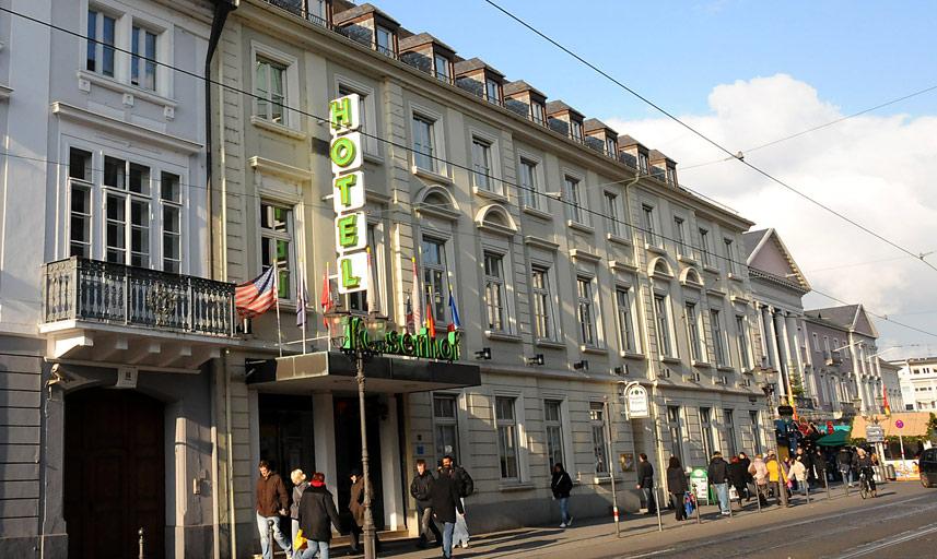 Hotel kaiserhof karlsruhe restaurant international for Karlsruhe design hotel