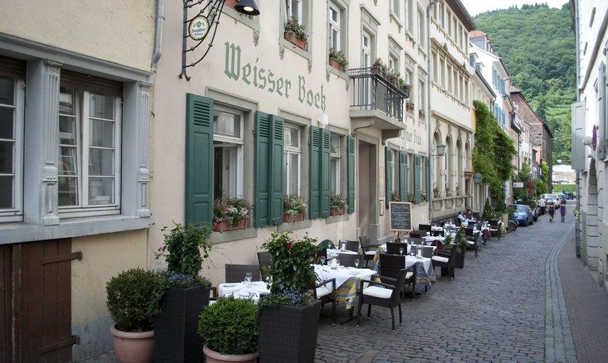weisser bock heidelberg restaurant deutsch by gastraum